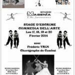 Stage Escrime Théâtre Février 2014