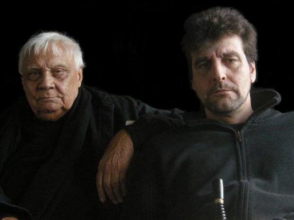 Frédéric Trin et Bob Heddle-Roboth - Escrime cascade artistique