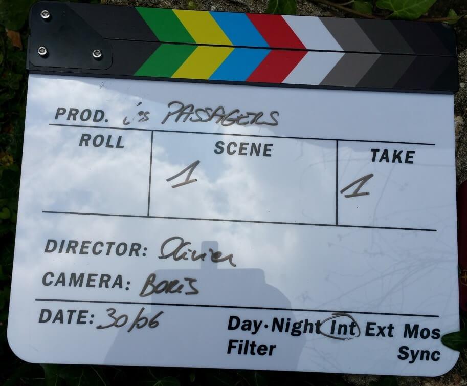 clap de tournage escrime cascade